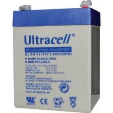 Μπαταρία Μολύβδου Ultracell 12V 2.9Ah